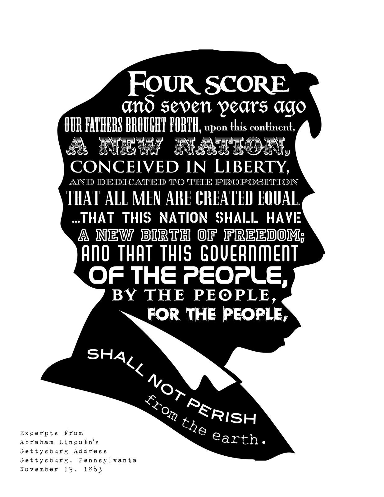 Abraham Lincoln Amp Gettysburg Address