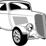 Free Hot Rod Clipart Black And White Download Free Clip Art Free Clip Art On Clipart Library