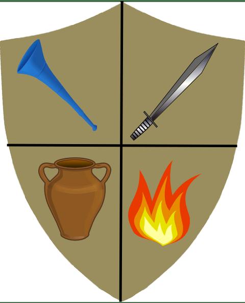 Torch Gideon Clip Art