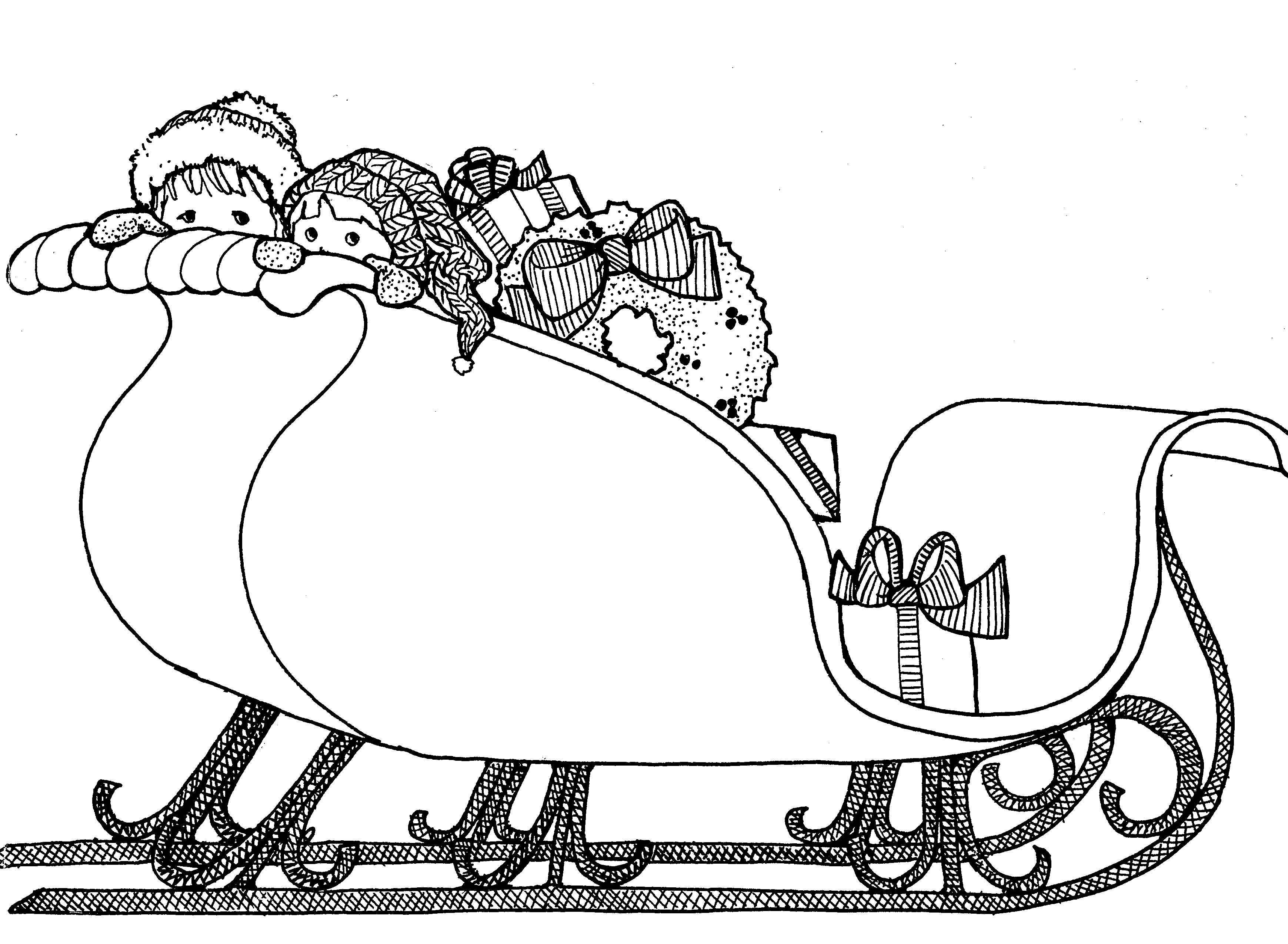 Free Victorian Sleigh Cliparts Download Free Clip Art