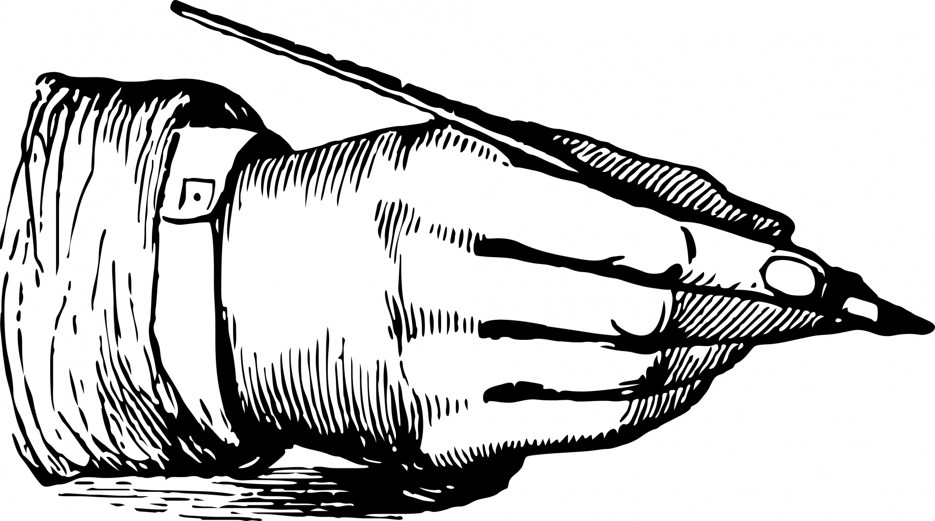 Clipart Writing Hand