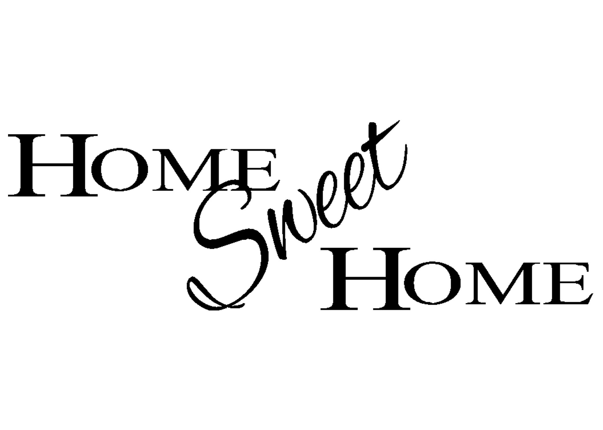 Welcome Home Clipart Free