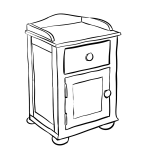 Free Bedside Table Cliparts Download Free Clip Art Free Clip Art On Clipart Library