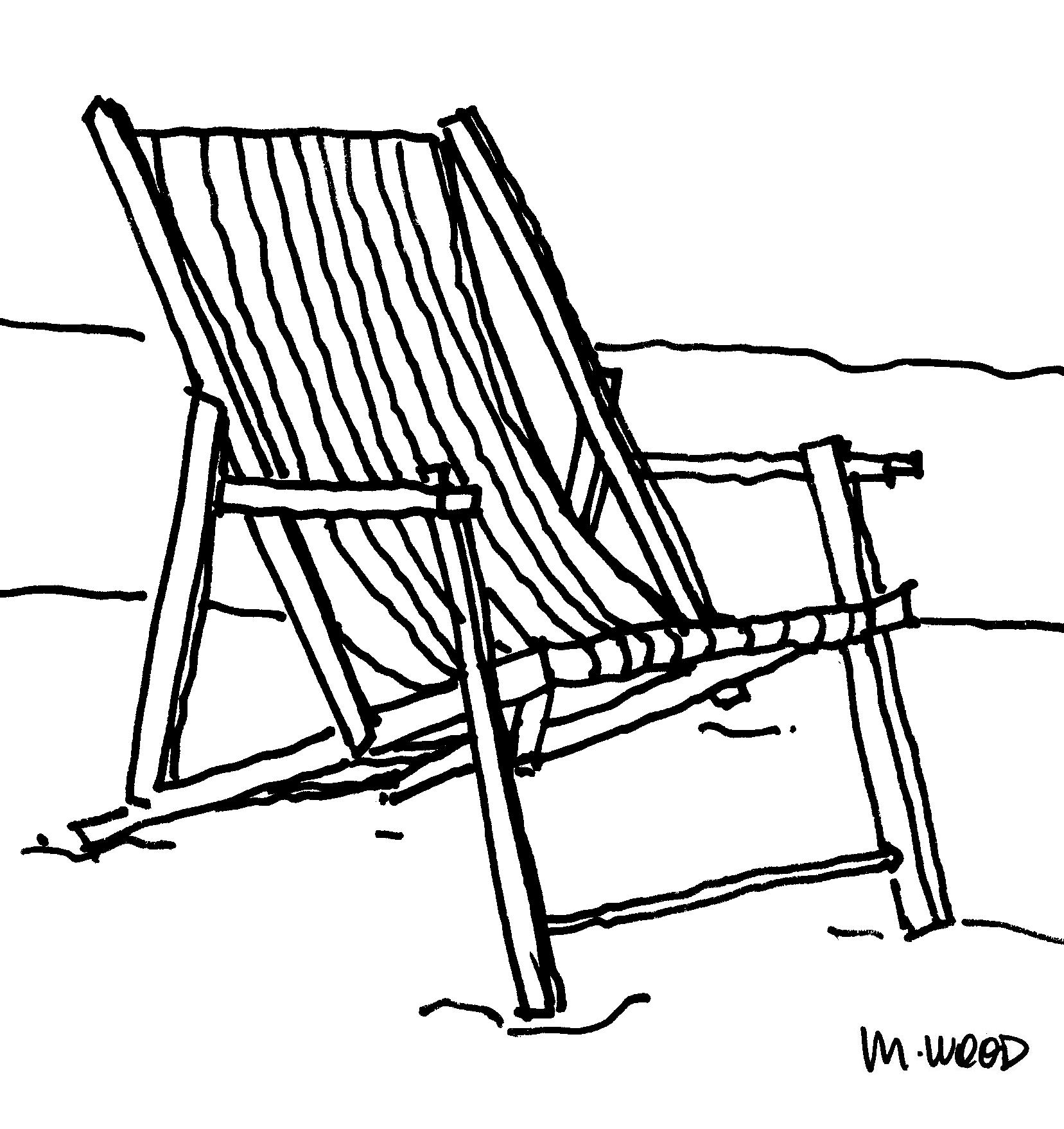 Beach Chair Art