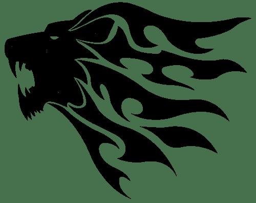 Logo Lion Transparent 3d