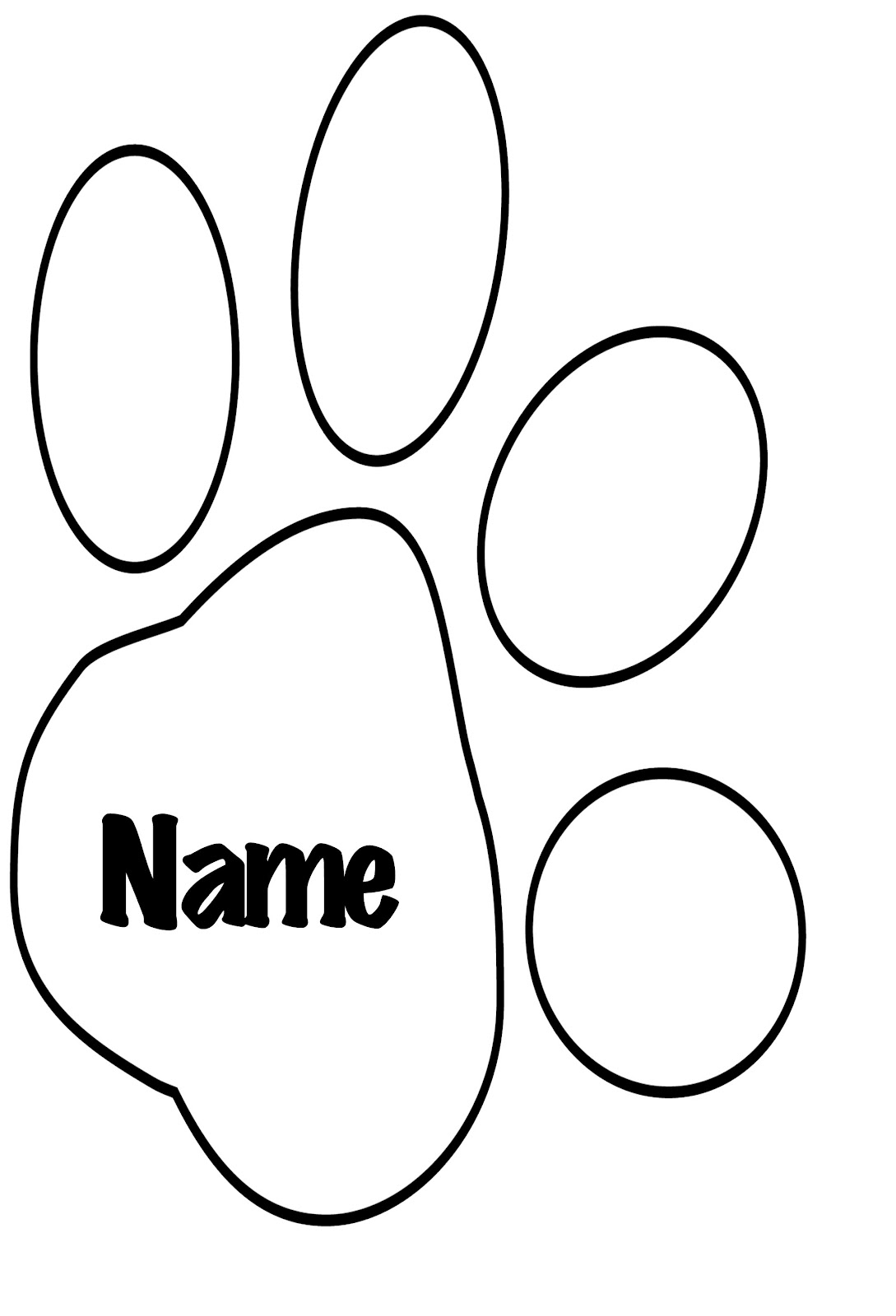 Free How To Draw A Tiger Paw Download Free Clip Art Free