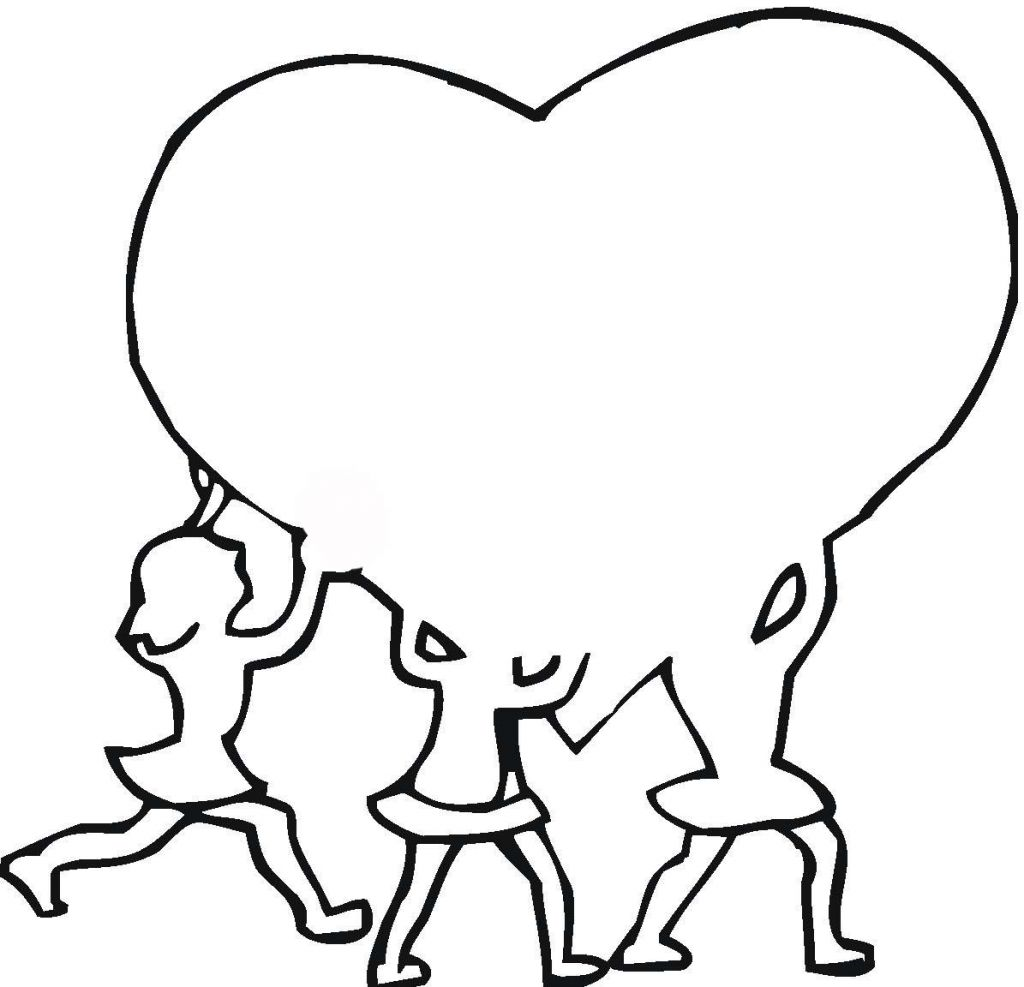 Free Outline Of A Heart Download Free Clip Art Free Clip