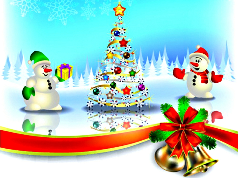 Free Merry Christmas Cartoon Images Download Free Clip