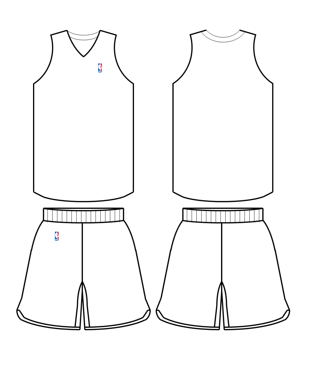 Free Blank Basketball Jersey Download Free Clip Art Free