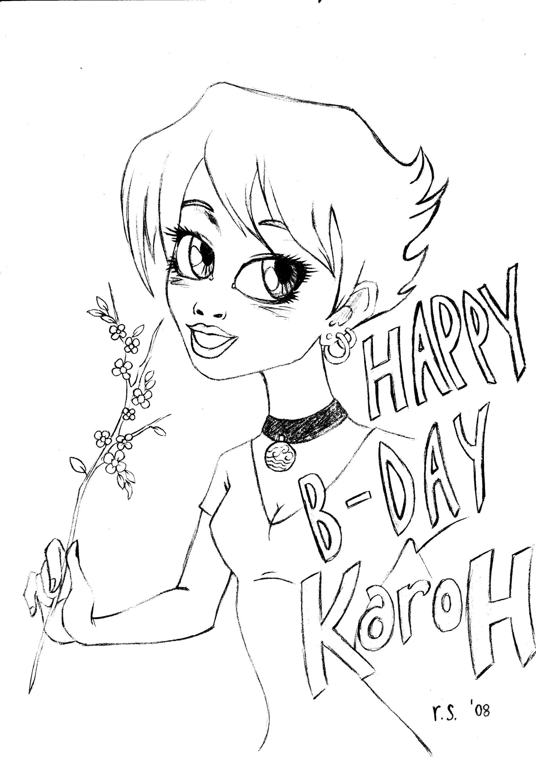 Happy Birthday Karoh 3