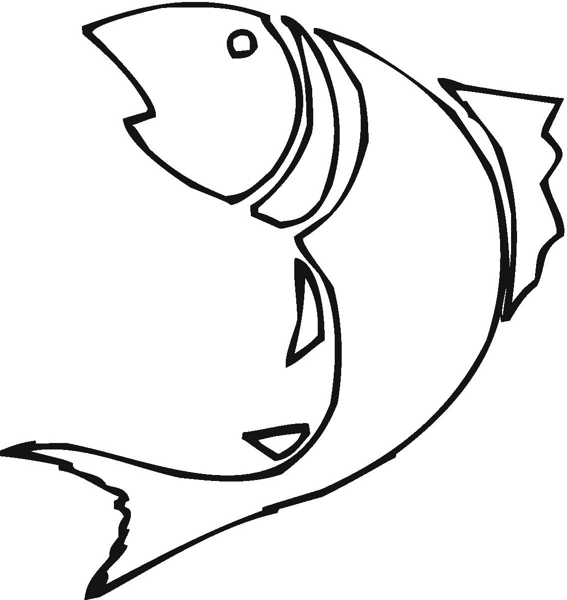Free Fish Outline Download Free Clip Art Free Clip Art