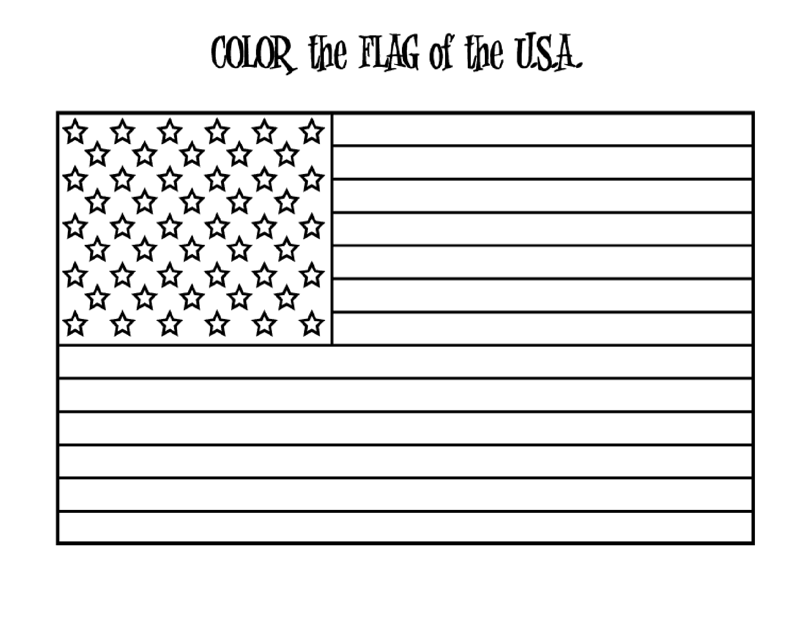 Free American Flag Printable Download Free Clip Art Free Clip Art On Clipart Library