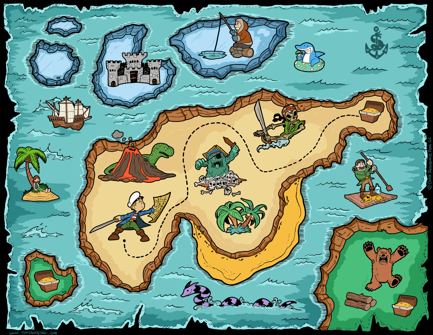 Free Pictures Of A Pirate Map Download Free Clip Art
