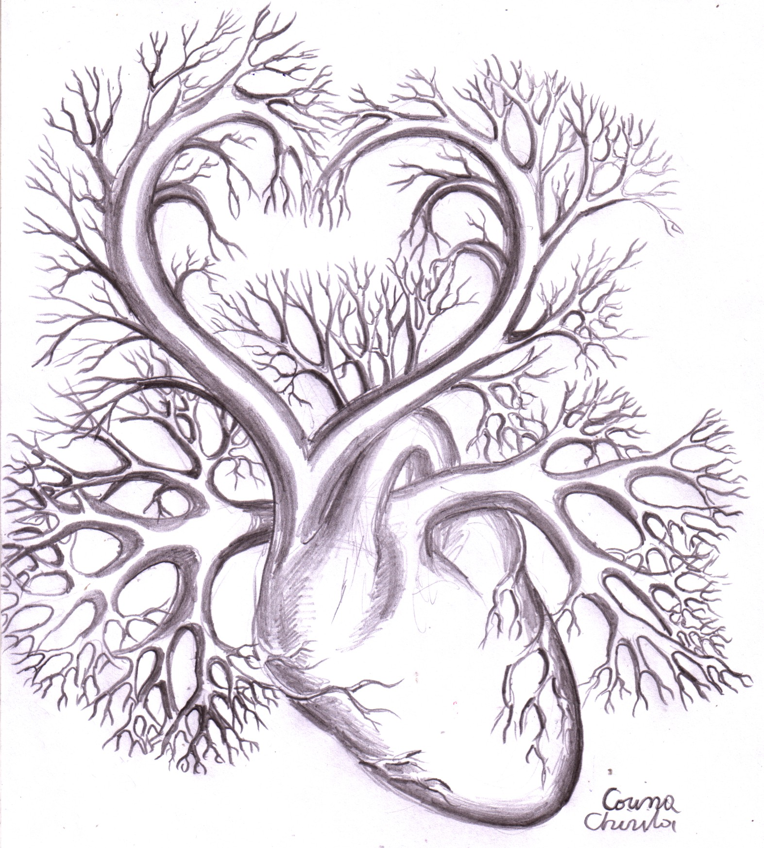 Free Pencil Art Love Heart Download Free Clip Art Free Clip Art On Clipart Library