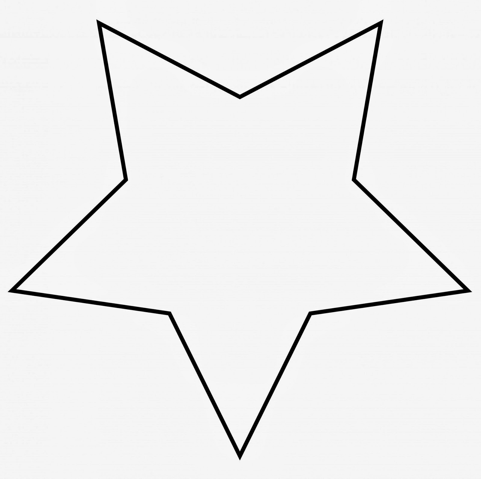 Free Large Star Template To Print Download Free Clip Art