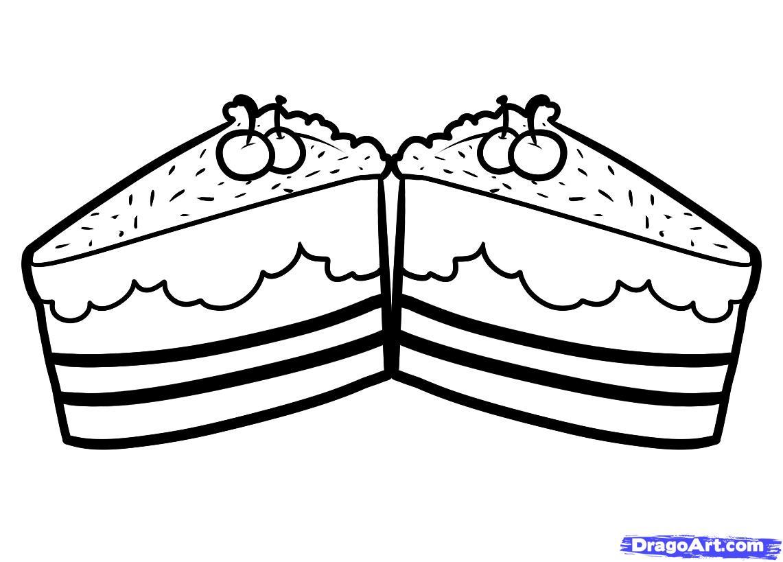 Free Cake Drawing Download Free Clip Art Free Clip Art