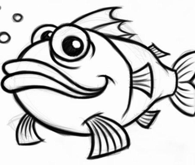 Cartoon Fish Mascot Character Branding Identity Packaging Design