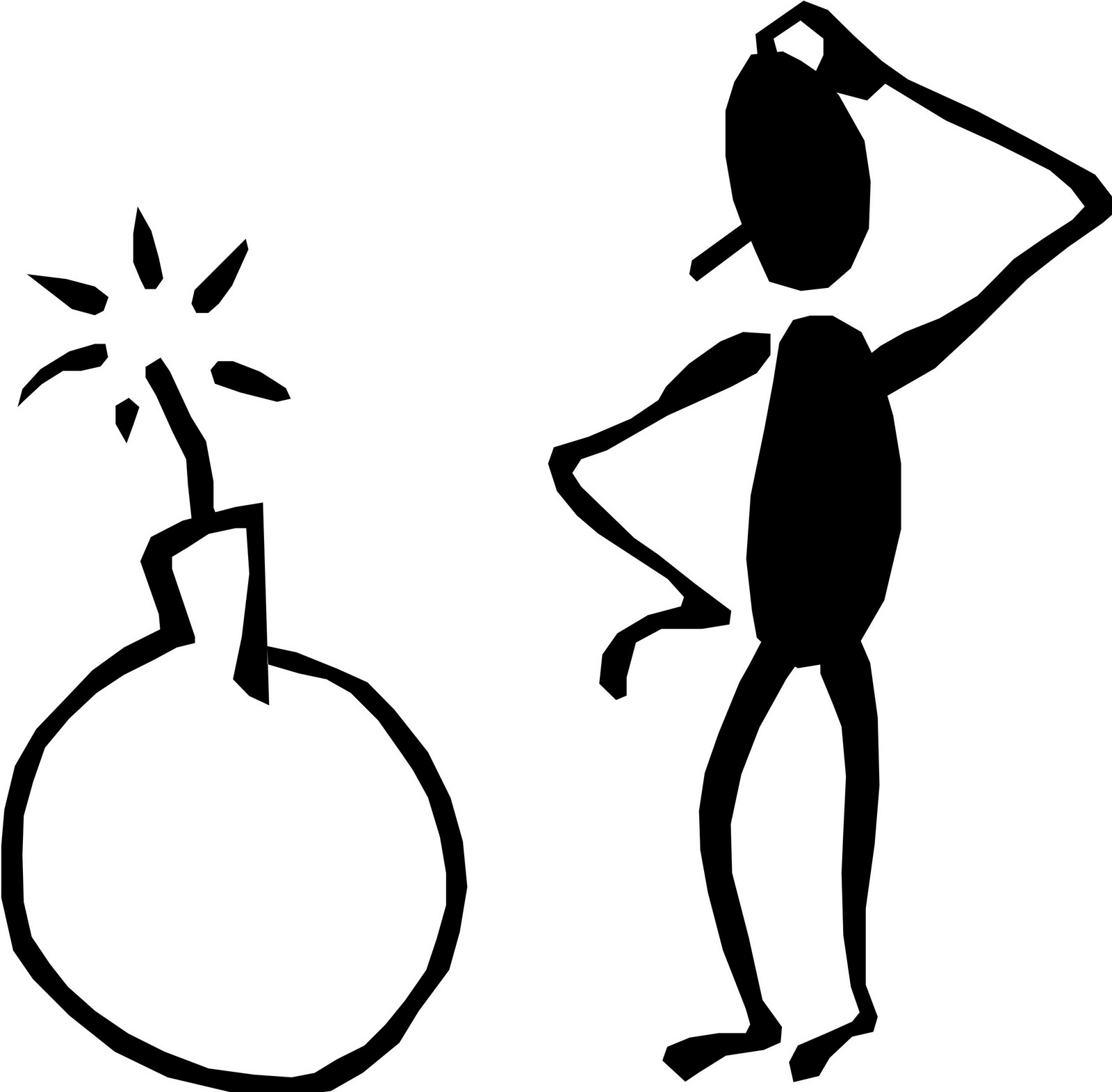 Free Confused Stick Figure Download Free Clip Art Free