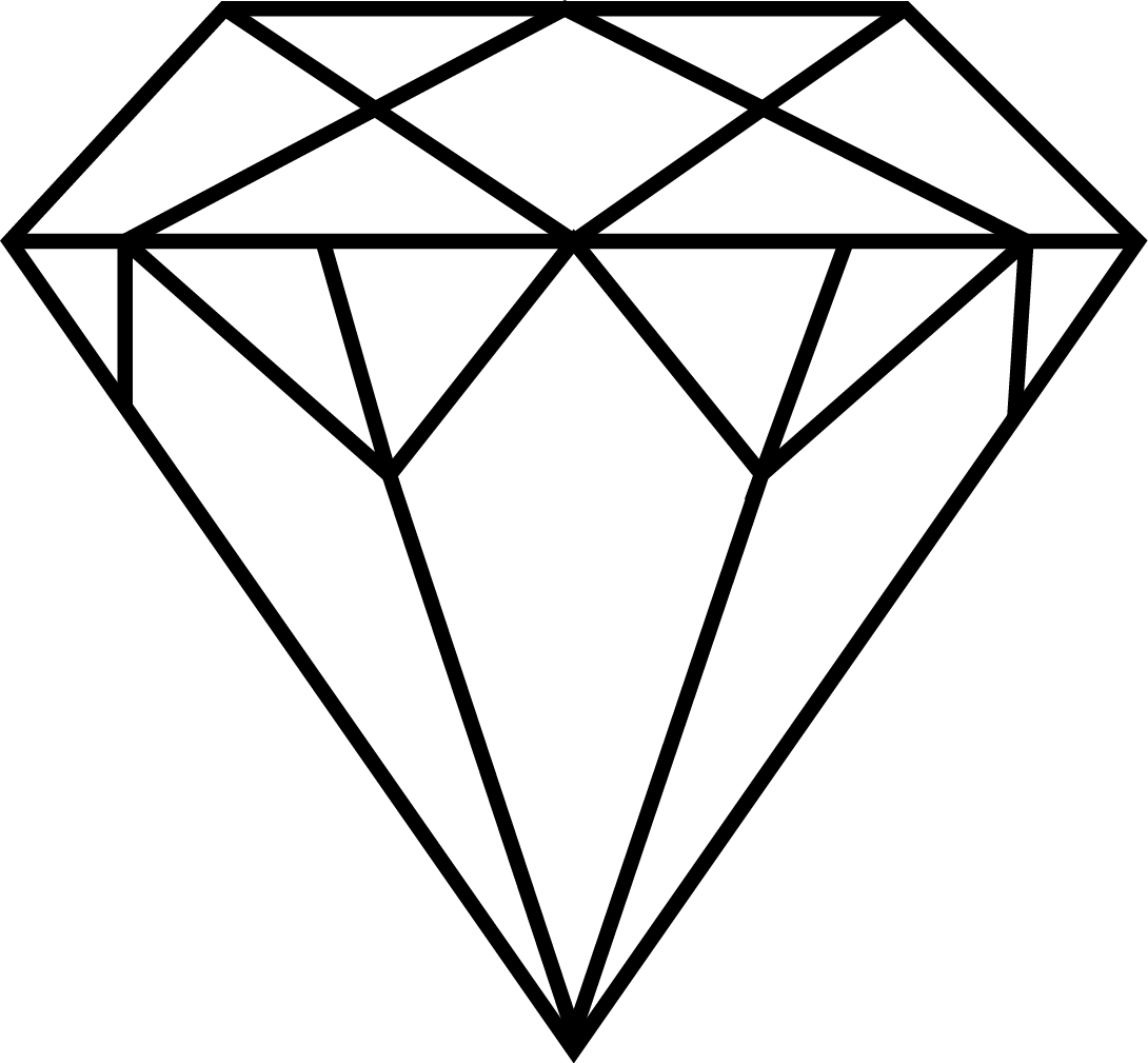 Simple Diamond Vector