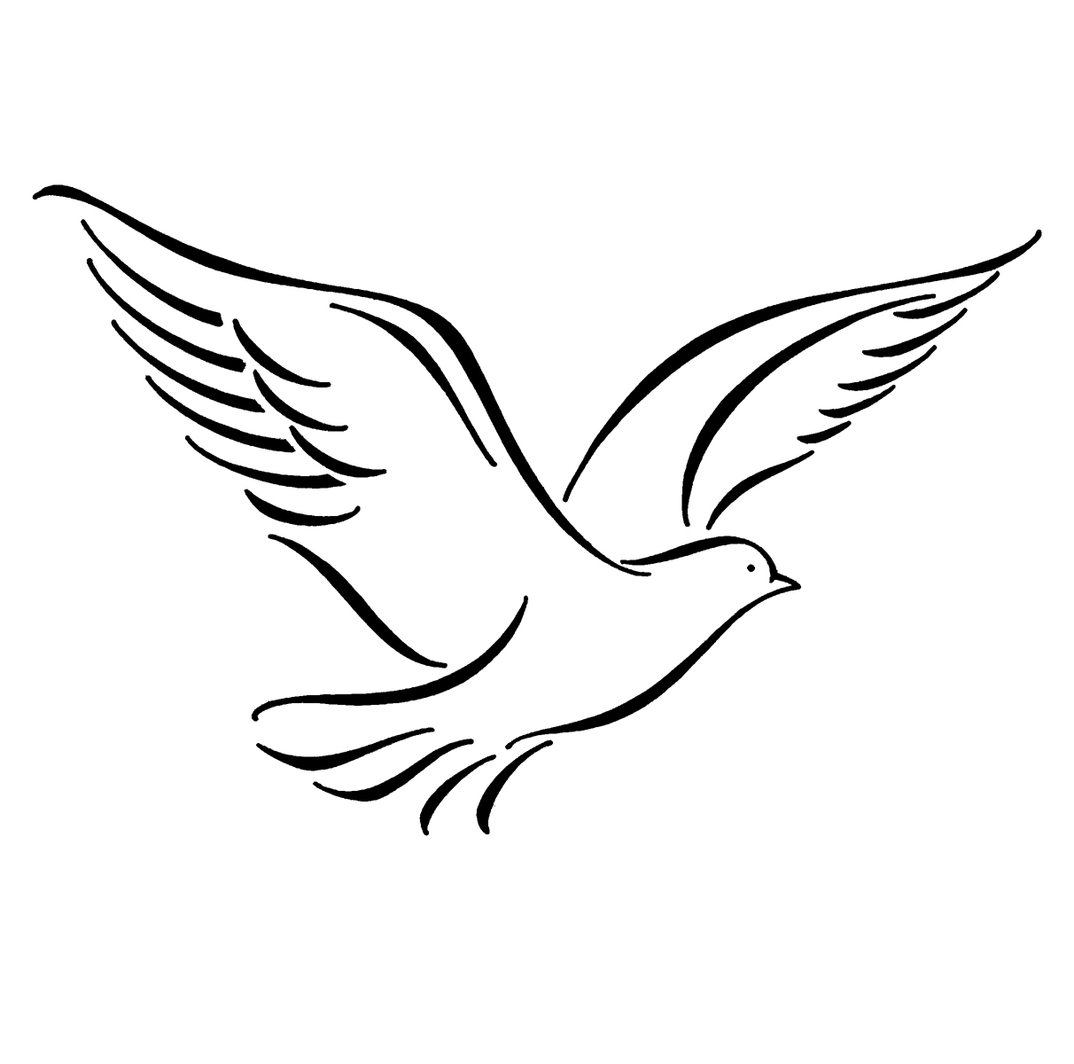 Free Flying Bird Drawing Download Free Clip Art Free Clip Art On Clipart Library