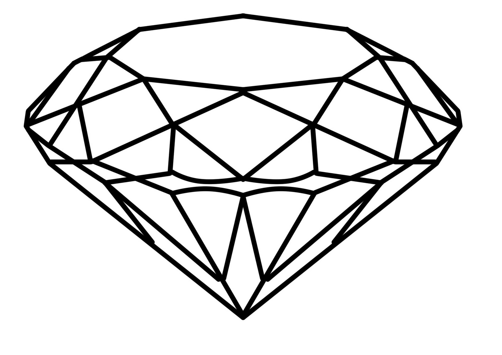 Free Diamond Outline Download Free Clip Art Free Clip