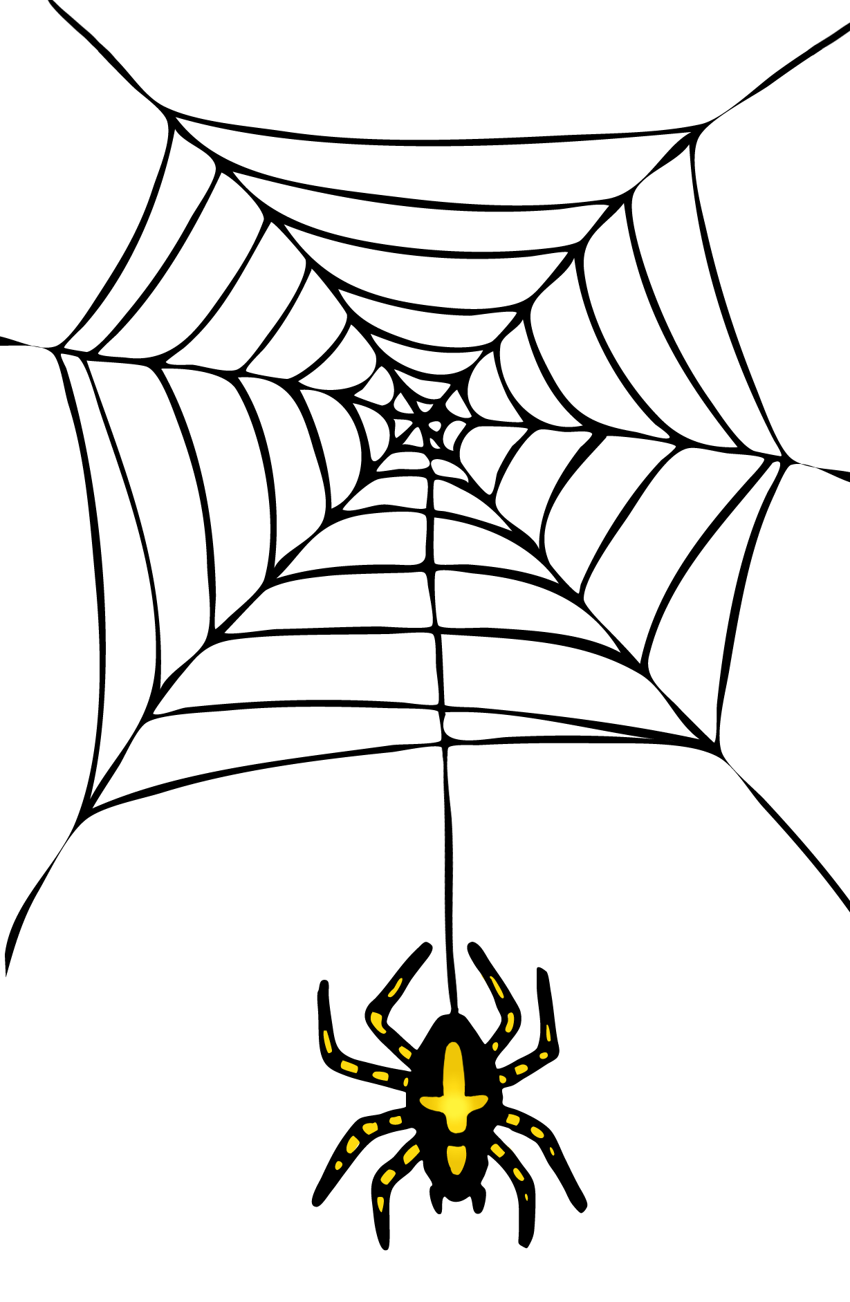 Images For Halloween Cobwebs Clipart