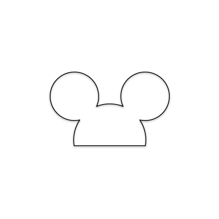 Free Mickey Outline Download Free Clip Art Free Clip Art