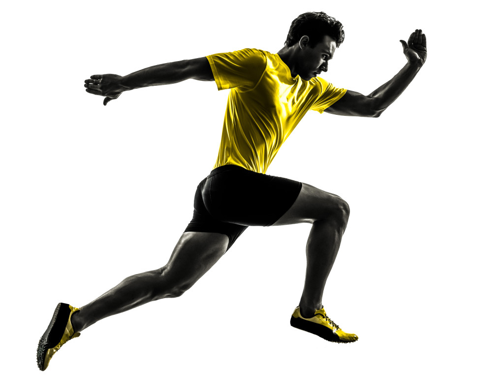 Free Silhouette Of Man Running Download Free Clip Art