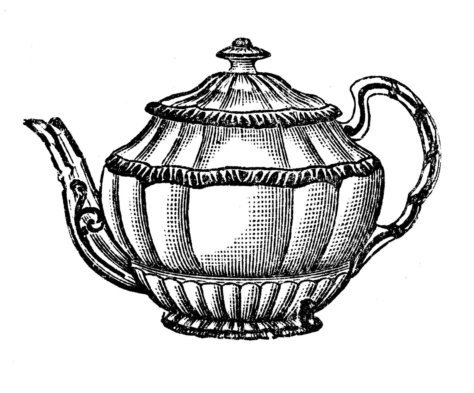 Tea Pot Clipart