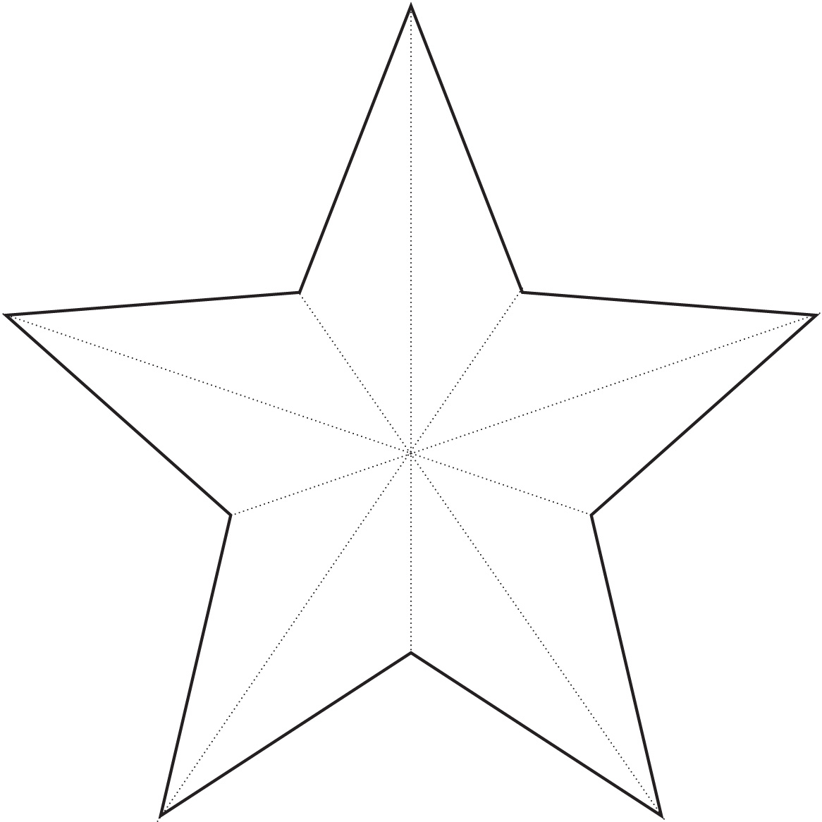 Free Small Star Template Download Free Clip Art Free