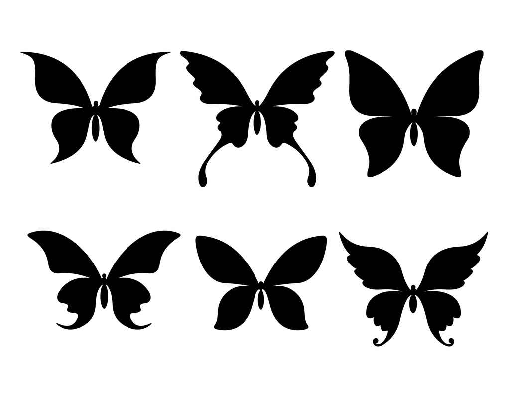 Free Butterfly Silhouette Download Free Clip Art Free