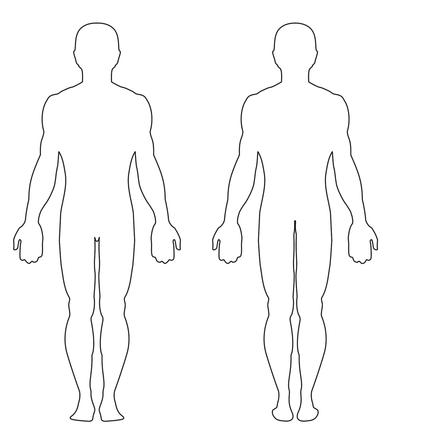 Free Human Body Silhouette Download Free Clip Art Free Clip Art On Clipart Library