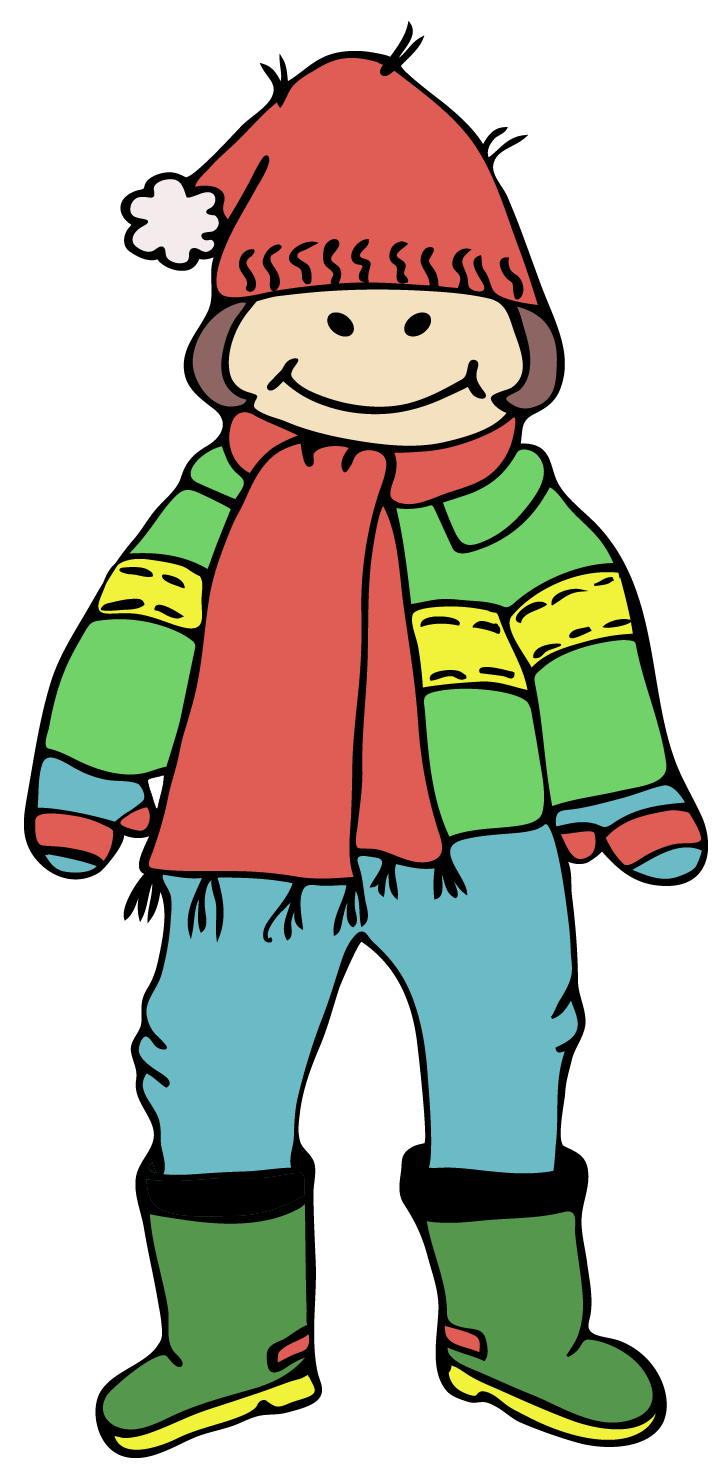 Free Pictures Of Winter Clothes For Kids Download Free