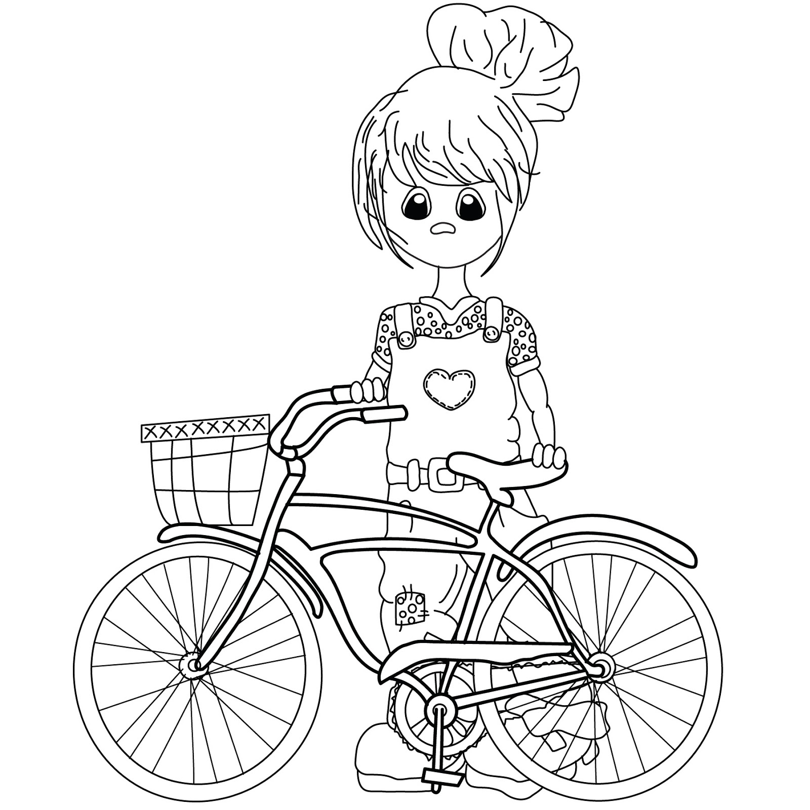 Free How To Draw A Bike For Kids Download Free Clip Art