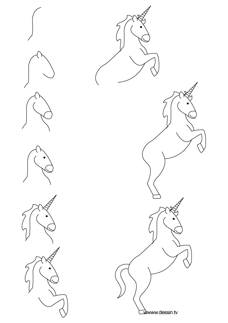 Free Simple Unicorn Download Free Clip Art Free Clip Art
