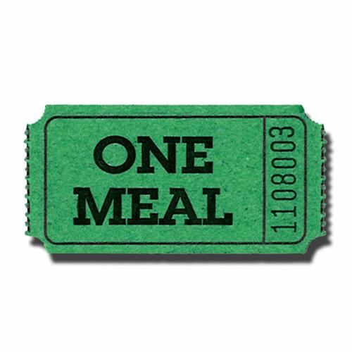 meal ticket template free download