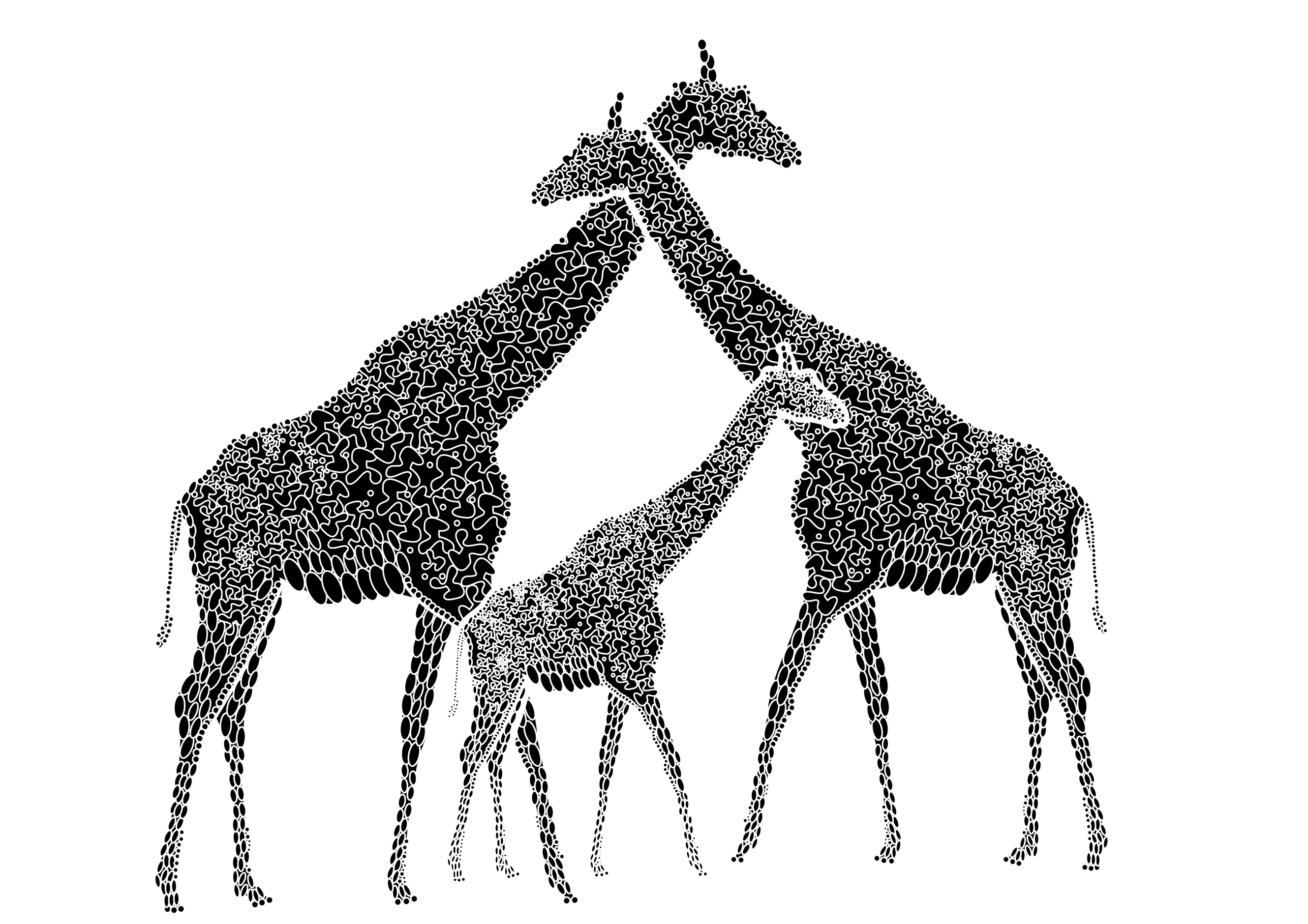Giraffe Coloring Pages Book