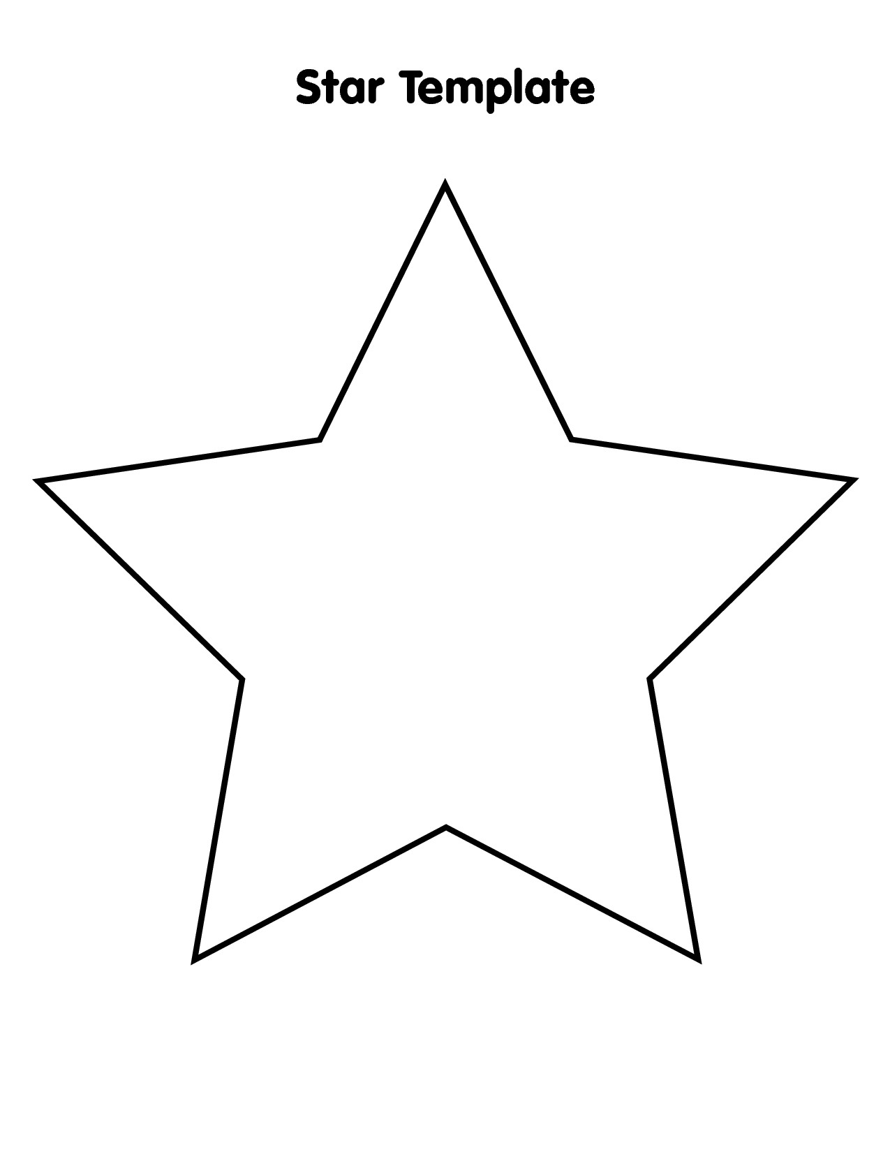 Free Star Template Large Download Free Clip Art Free