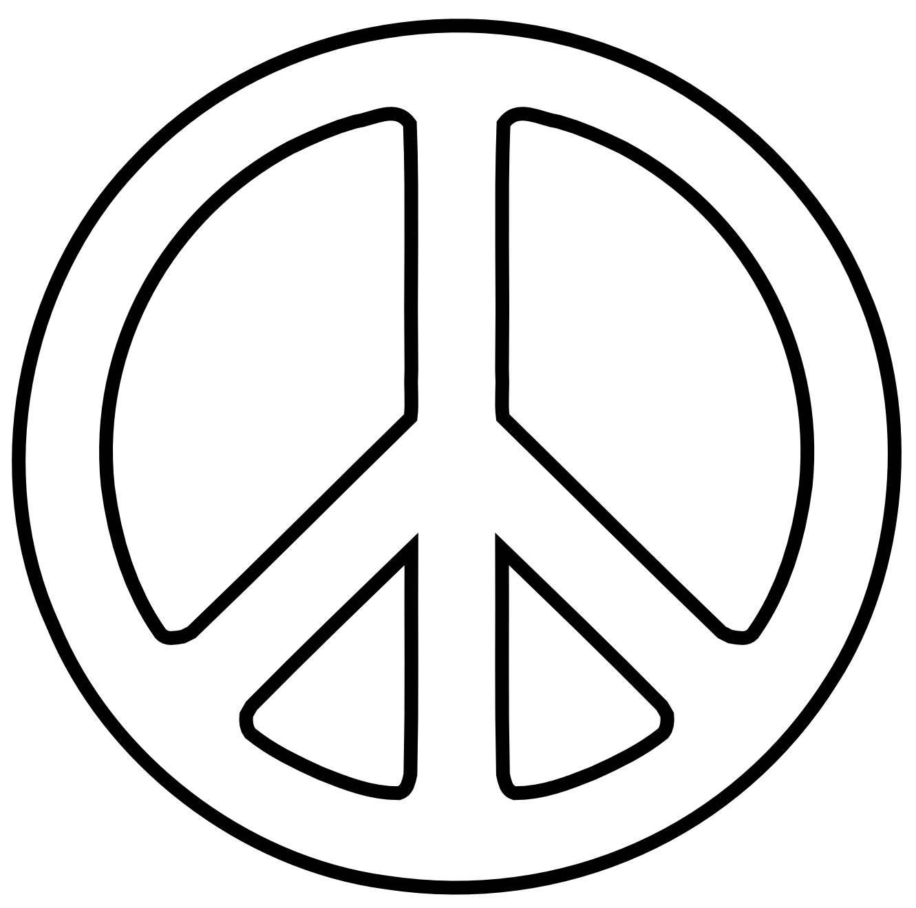 Free Peace Sign Clipart Download Free Clip Art Free Clip