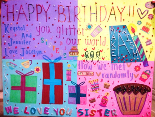 Group Of Birthday Poster On Tumblr We Heart It