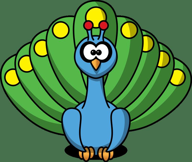 Free to Use  Public Domain Peacock Clip Art