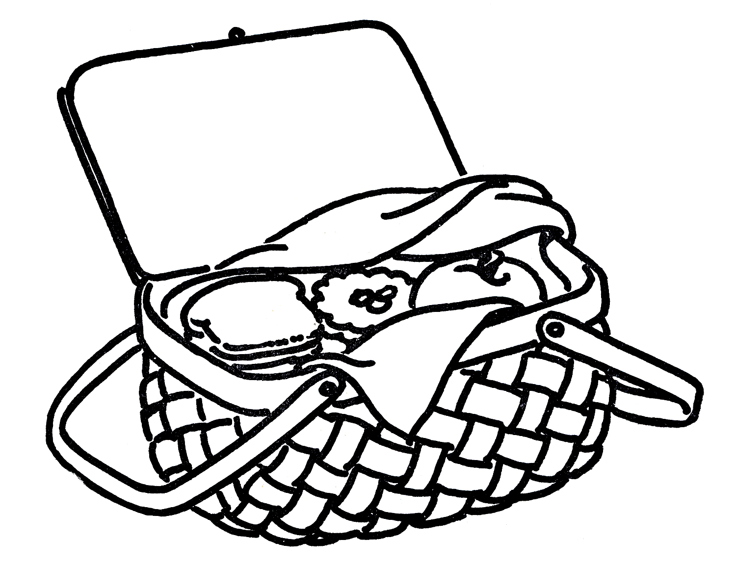 Free Picture Of Picnic Basket Download Free Clip Art Free Clip Art On Clipart Library