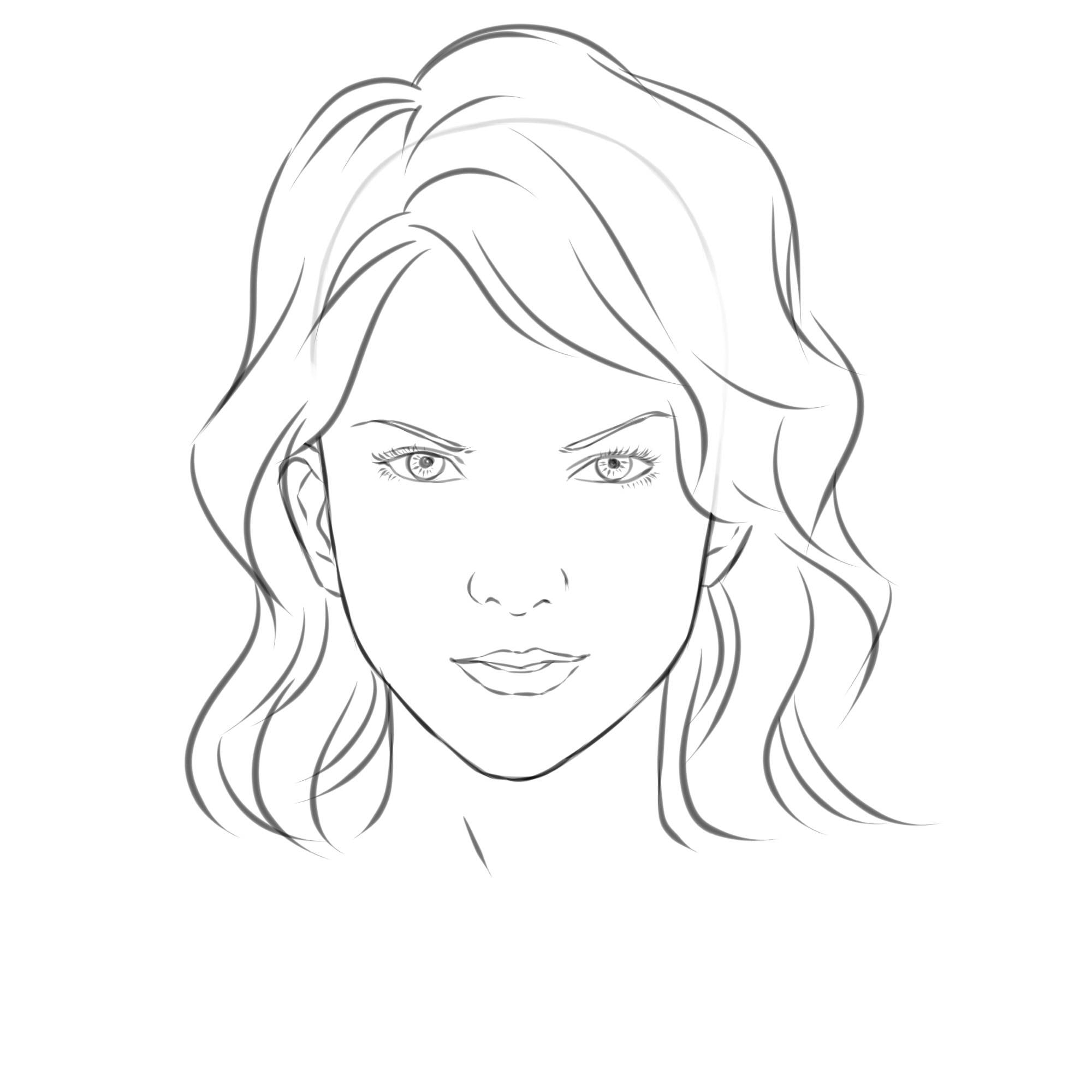 Free Easy Girl Drawing Download Free Clip Art Free Clip