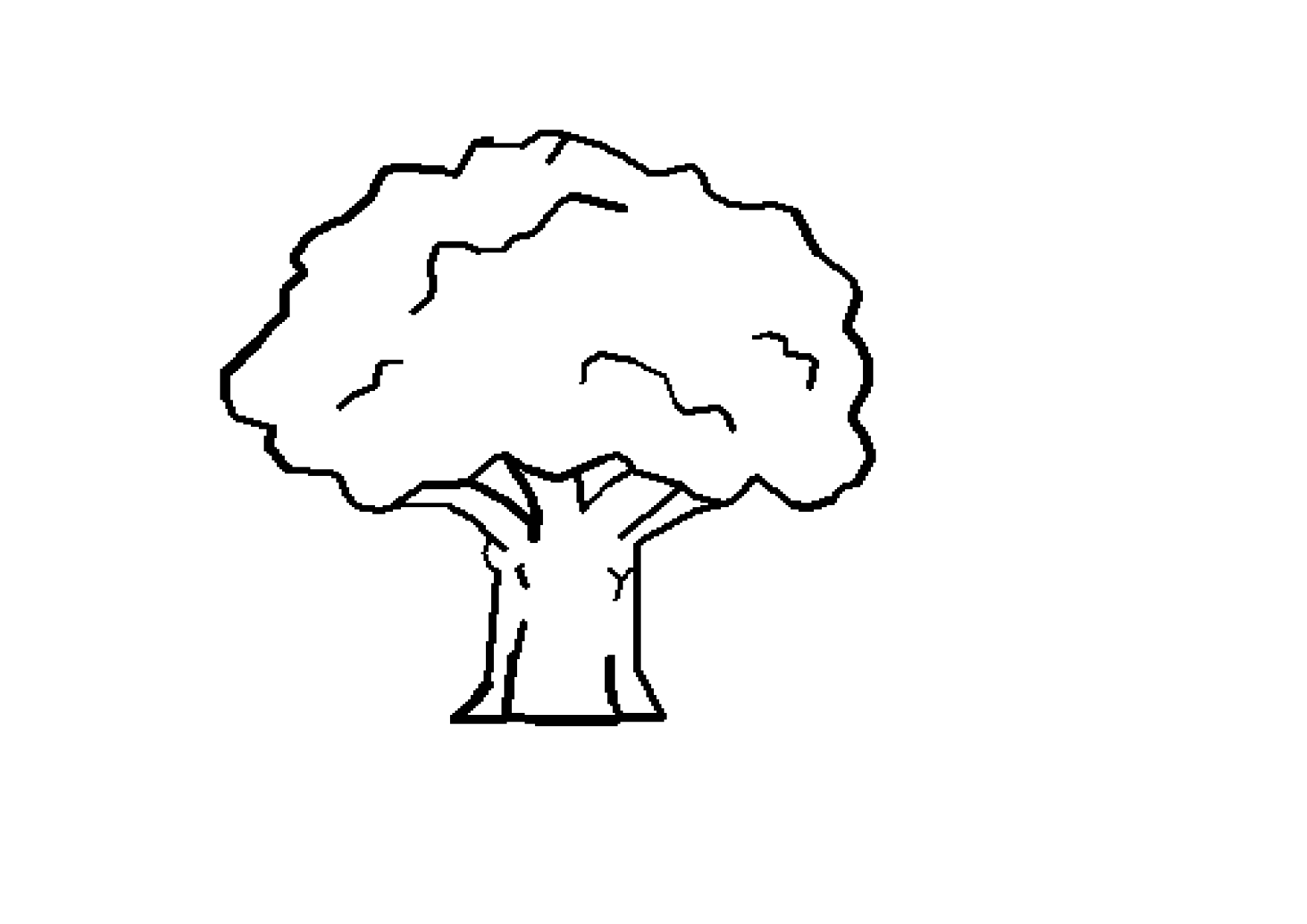 Free Tree Drawings Black And White Download Free Clip Art