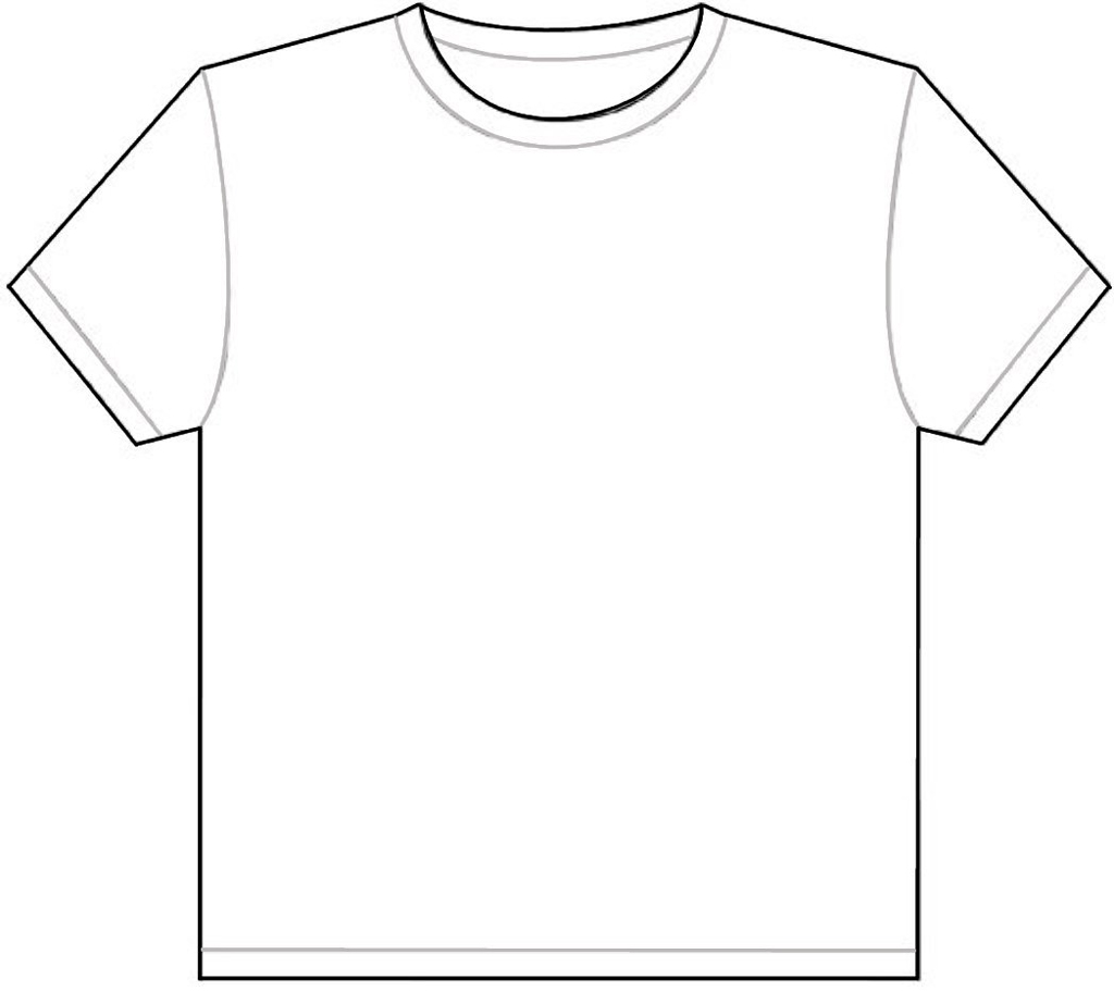 Free Printable T Shirt Template Download Free Clip Art
