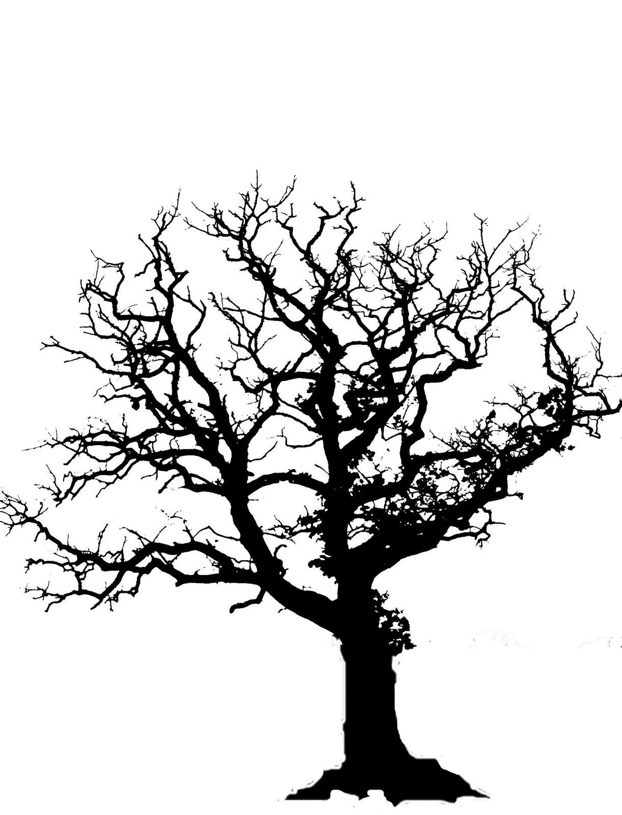 Free Oak Tree Silhouette Download Free Clip Art Free