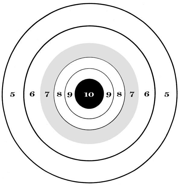 free printable shooting target # 41