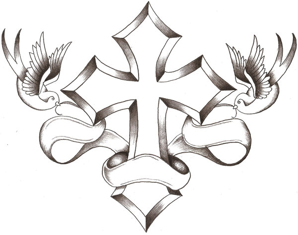 Cross Wings By TheLob On Clipart Library