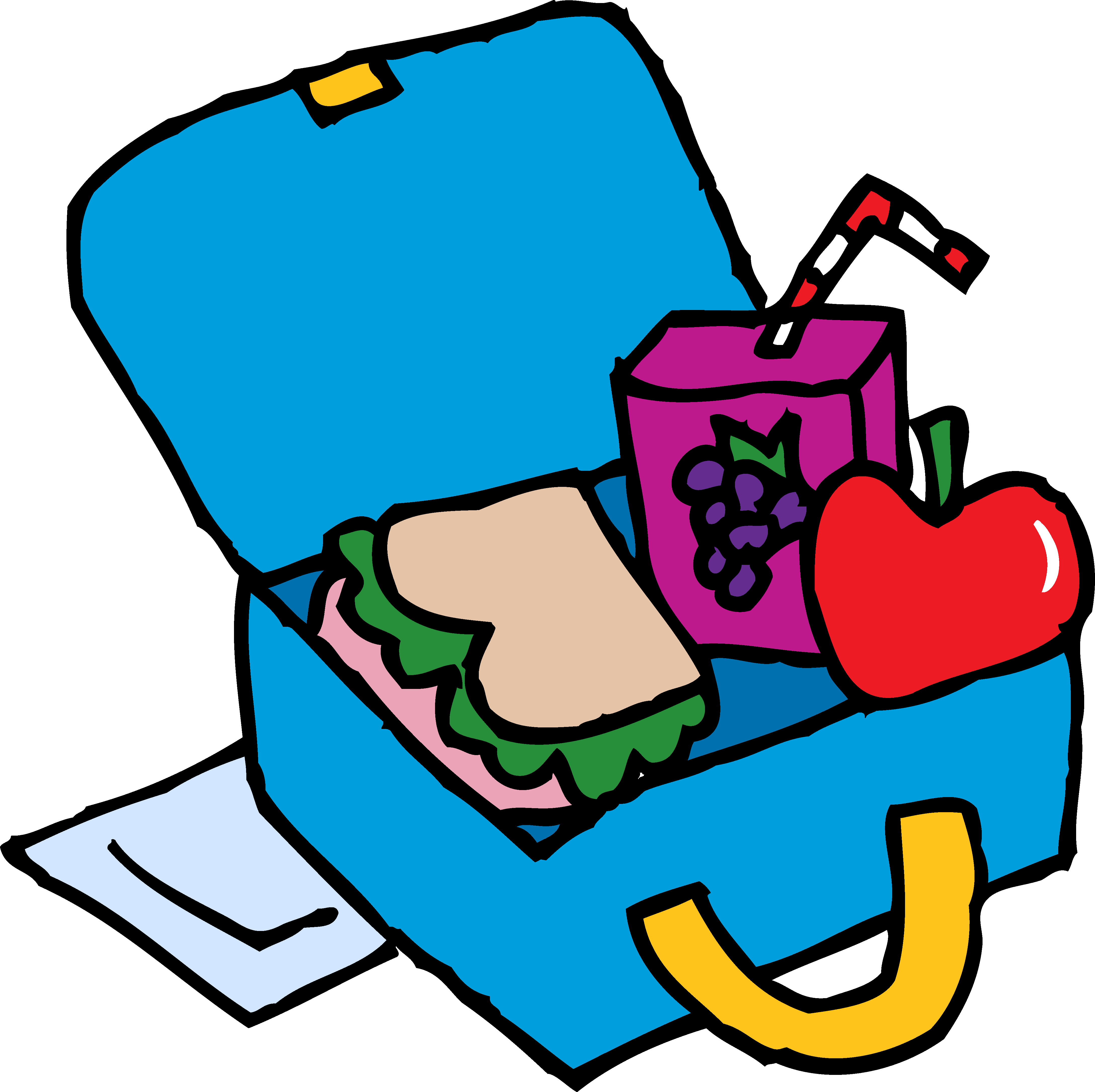 School Lunch Box Clip Art | Clipart library - Free Clipart Images