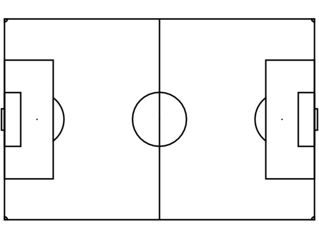 Pix For Blank Soccer Field Dimensions